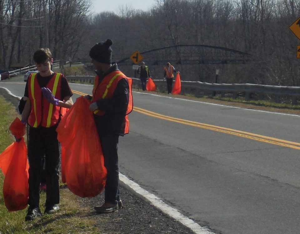 "Southern Saratoga Interact has adopted a mile and a half segment of Riverview Road by ""policing"" twice annually."