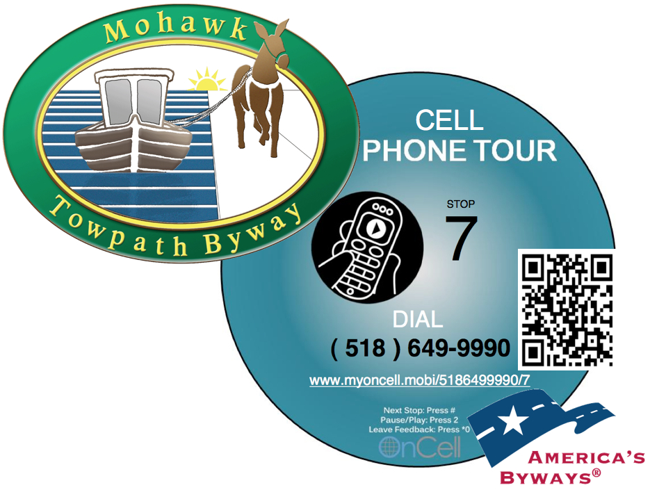 Cell Phone Tour Sign