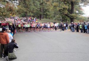 Marathon Start in Schenectady