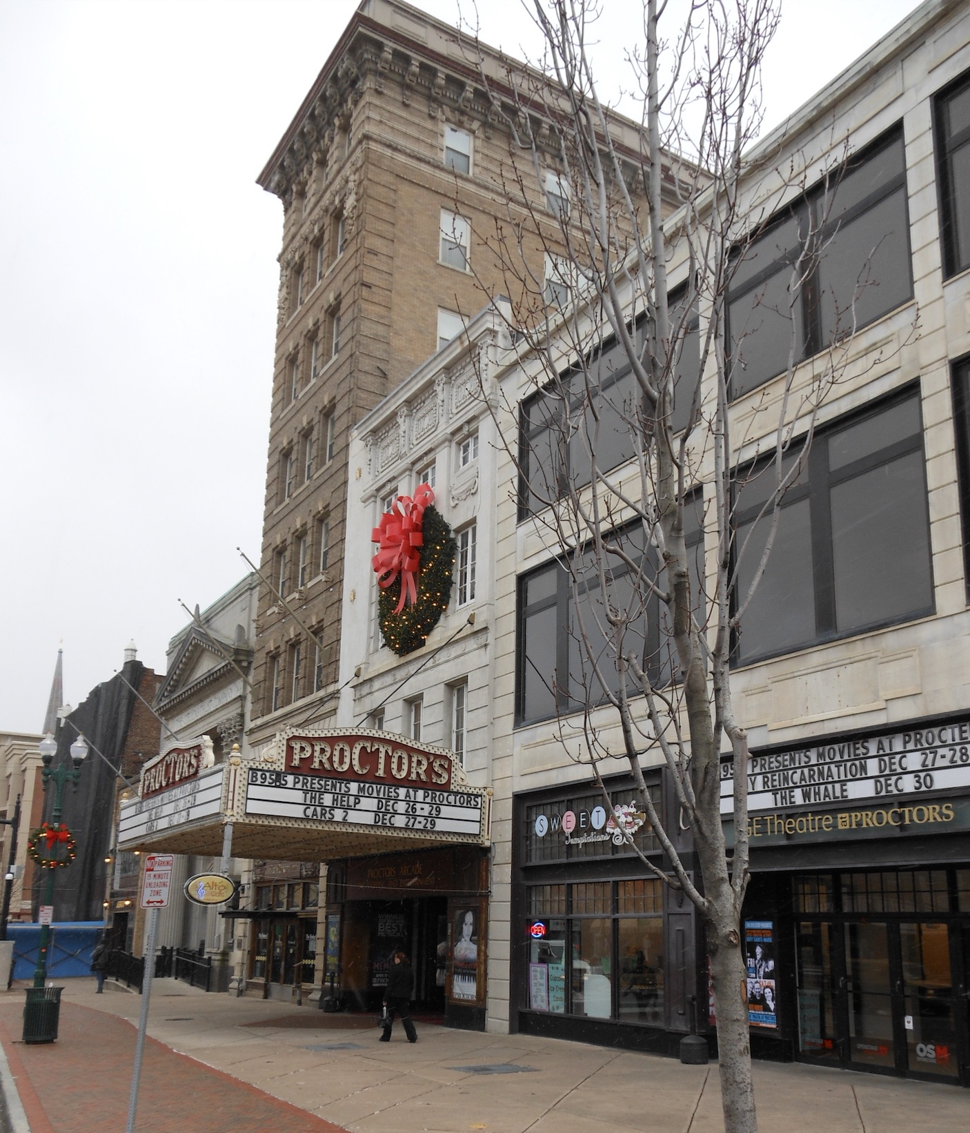 Proctors dressed for the Holidays