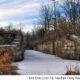 Historic Lock 19 in the Vischer Ferry Preserve winter- photo by Karl Barth